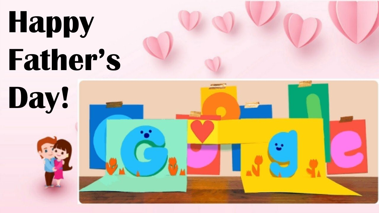 Father's Day 2021: Google wishes all dads with pop-up card