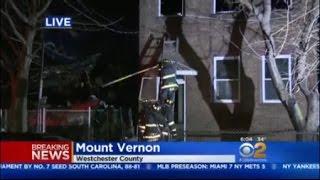 Fire Rips Through Mount Vernon Homes