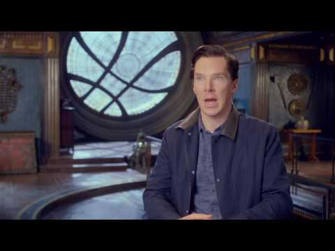 Doctor Strange: Benedict Cumberbatch 'Dr. Stephen Strange' Behind the Scenes Movie Interview