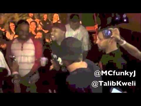 MC Funky J vs Dweeb (Talib Kweli) rap...