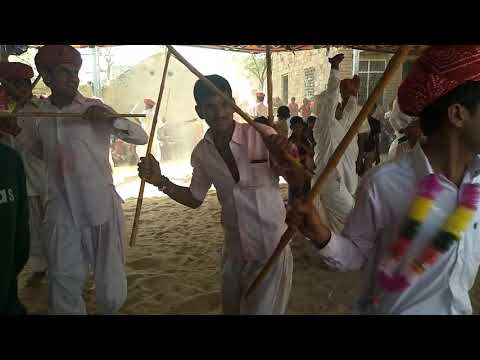 Holi festival Gair