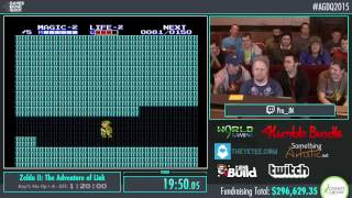 Awesome Games Done Quick 2015 - Part 68 - Zelda II: The Adventure of Link by Pro_JN