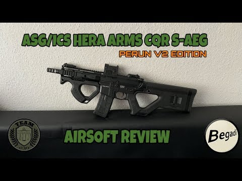 [REVIEW] ASG/ICS HERA ARMS CQR S-AEG M4 Airsoft by TEAM-030-AIRSOFT