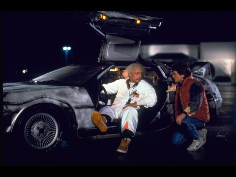 Flat Earth Map discovered in Back to the Future