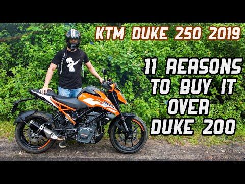 KTM Duke 250 2019 ABS Review - 11 Reasons to buy it over Duke 200