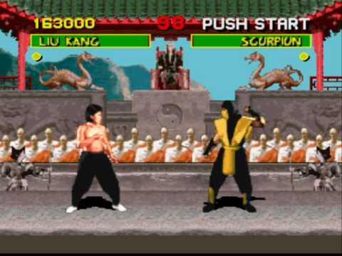 Super Nintendo - Mortal Kombat (1993) - YouTube