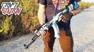 КАК СДЕЛАТЬ AK 47 VULCAN В РЕАЛЬНОЙ ЖИЗНИ (CS:GO/DIY)