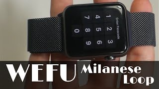 WEFU Milanese Loop Apple Watch Band & Case (42mm) | Review