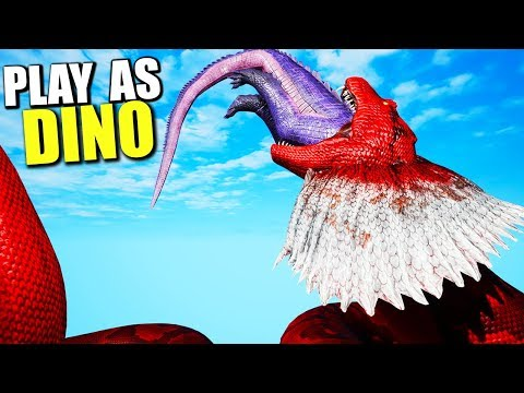 BEWARE THE TALL GRASS! Ark Play As Dino Player Hunting