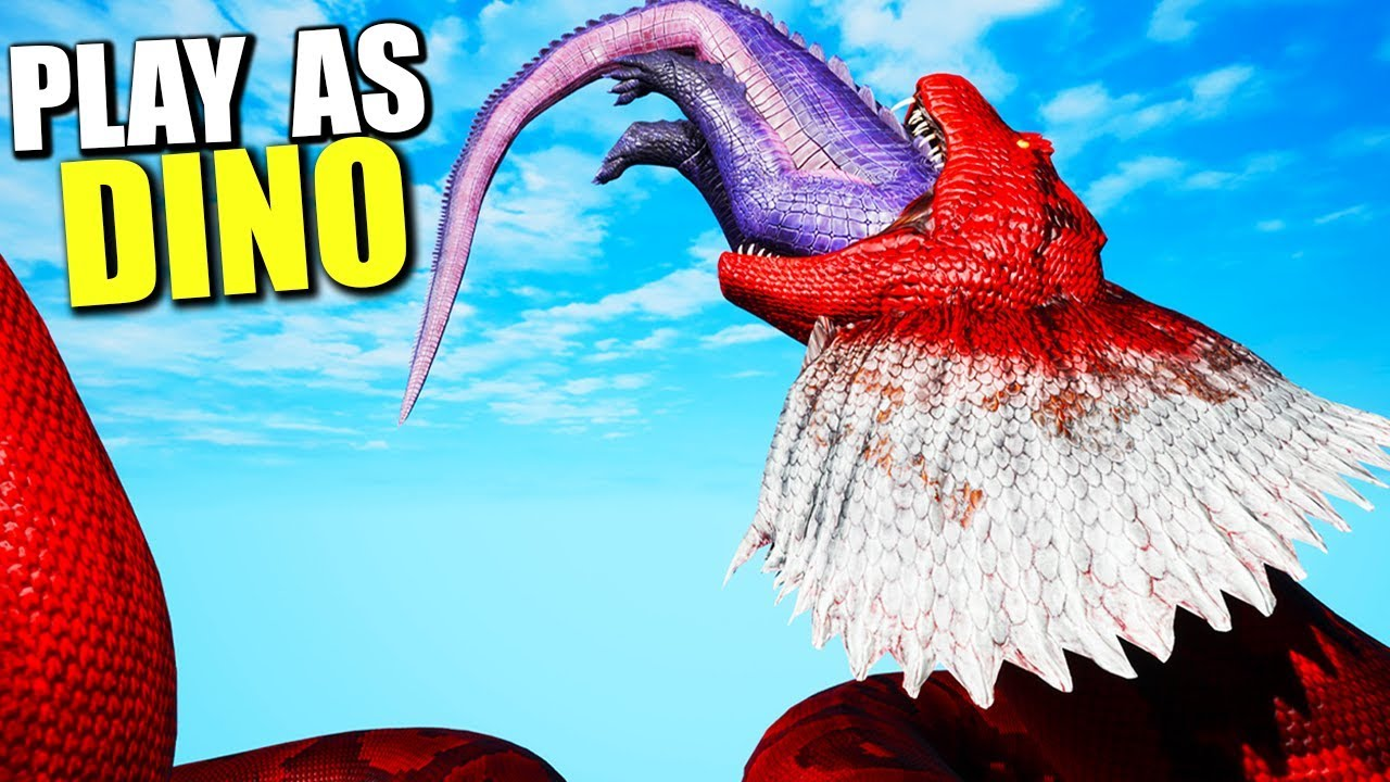 BEWARE THE TALL GRASS! Ark Play As Dino Player Hunting! - Ark Survival  Evolved