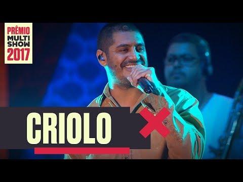 Nas Águas | Criolo | Prêmio Multishow 2017
