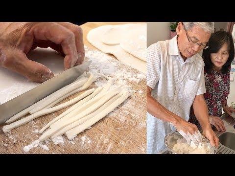 recette-de-ma-maman…-de-mon-pÈre-!-khao-piek-sen-nouilles-pâtes-de-riz-artisanales-pétries-à-la-main