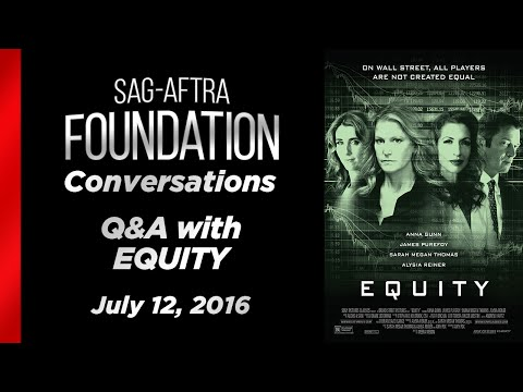 Conversations with Sarah Megan Thomas and Alysia Reiner of EQUITY