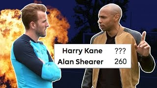Kane Confident He'll Break Shearer's Record | Thierry Henry Meets Harry Kane