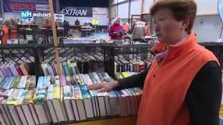 Recordaantal boeken bij grootste boekenmarkt van Noord-Holland