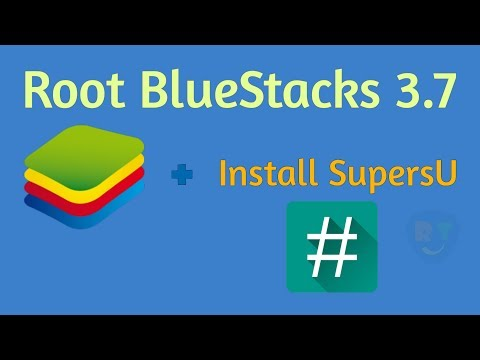 How To Root BlueStacks 3.7 And Install SuperSu (Without KingRoot) || RoH TeChZ