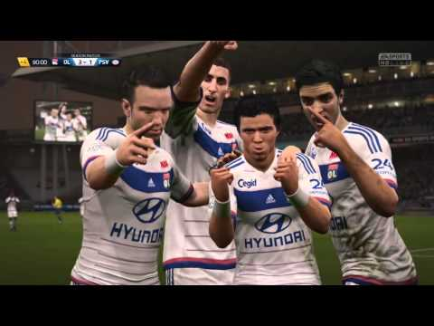 FIFA 16 goal Rafael da Silva lyon