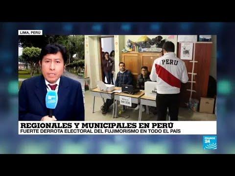 Informe desde Lima: fujimorismo derrotado en elecciones regionales