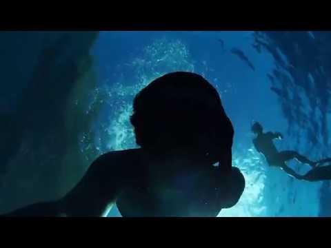 Freediving Sapphire Cave, Tonga