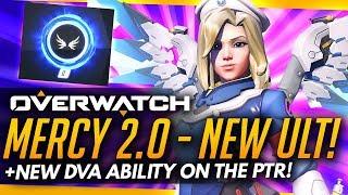 Overwatch | MERCY 2.0 GAMEPLAY + NEW DVA ABILITY [PTR]