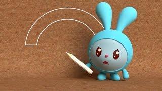 Малышарики - Умные песенки - Цветное и бесцветное - мультфильм для самых маленьких ❤🍬