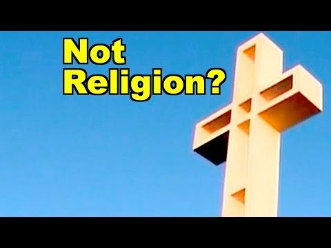 Fox News: Huge Christian Cross Not Religious?
