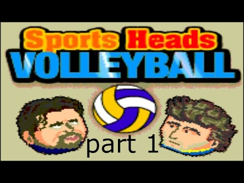 SPORTS HEADS VOLLEYBALL (flash Game) - Part 1