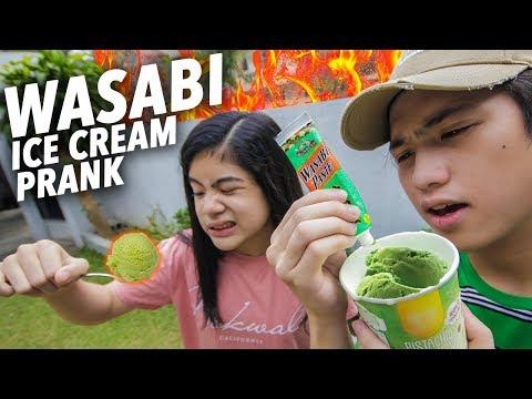 WASABI ICE CREAM PRANK ON SISTER!! | Ranz and Niana
