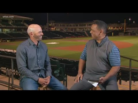 Rangers manager Chris Woodward talks about the team's future, his mentor coach