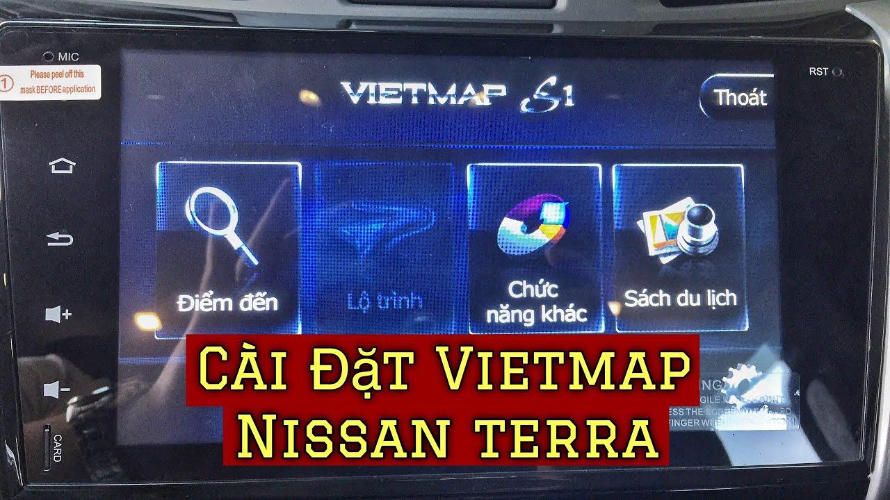✅ Cài Đặt VIETMAP Dẫn Đường Trên Nissan Terra, Ứng Dụng Dẫn Đường Xe Hơi Tốt Nhất | Hoan Nissan