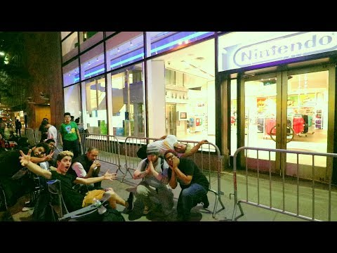[DAY 9/10] THE OFFICIAL SNES CLASSIC LINE AT THE NINTENDO STORE HAS FORMED! (1st in LINE!)