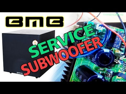 SUBWOOFER BMB SW112SE PROBLEM SOLVED