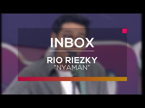 Rio Riezky - Nyaman (Live on Inbox)