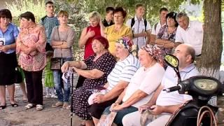 Визит Антона Киссе в Саратский район