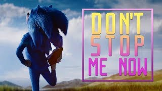 The Sonic Movie trailer with Don't Stop Me Now
