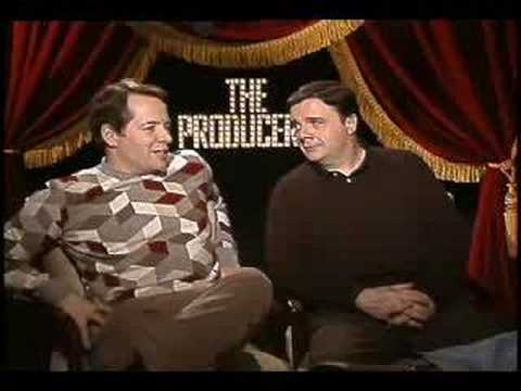 Matthew Broderick  Nathan Lane interview for The Producers