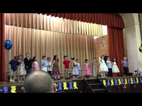 Isabel Resurrection Ascension School Rego Park Pre-K Step Up