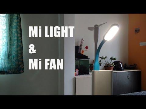 Xiaomi Mi LED Light and Mi  Demo Mi Accessories