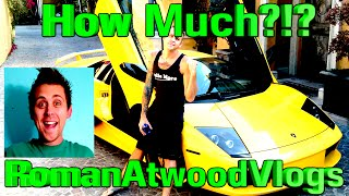 * RomanAtwoodVlogs * How Much MONEY Does He Make From YouTube 2016!