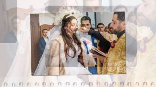 Армянская свадьба в Украине. Уникальный певец, поющий камерамен!