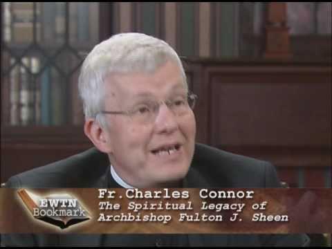 Bookmark - Fr. Charles Connor - Spiritual Legacy of Archb Fulton J. Sheen