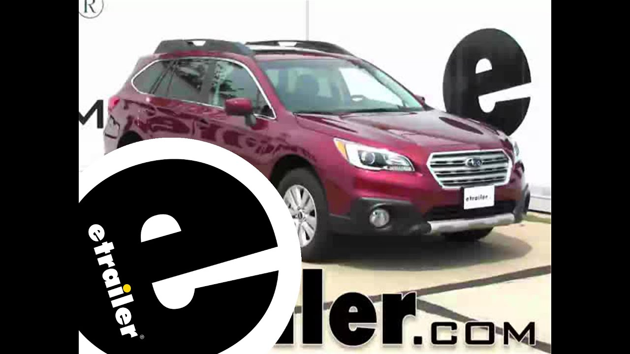 installation of a trailer wiring harness on a 2015 subaru outback installation of a trailer wiring harness on a 2015 subaru outback wagon etrailer com