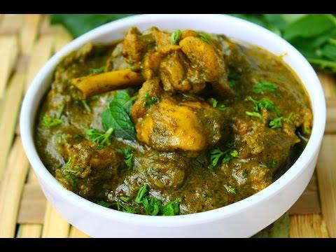 Curry leaf chicken curry - Andhra karivepaku kodi kura restaurant style