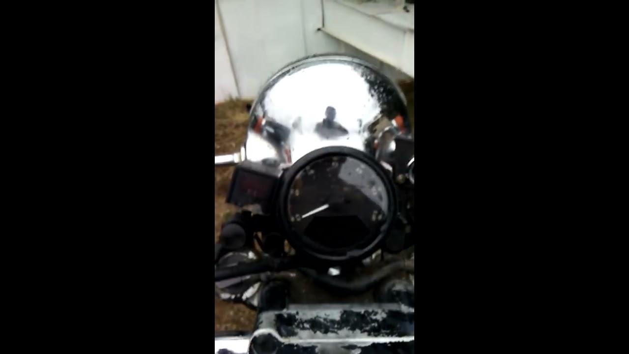Installation Of Universal Speedometer On Honda Motorcycle Youtube 95 Shadow Aero 750 Wiring Diagram