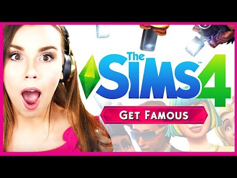 🎥 THE SIMS 4 GET FAMOUS 🌟 Trailer Reaction! (OMG I'm in it)