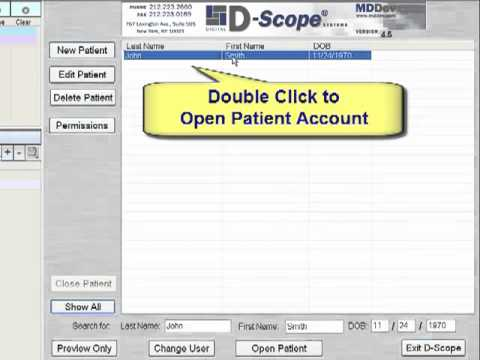 D-Scope Systems Standard Patient Interface