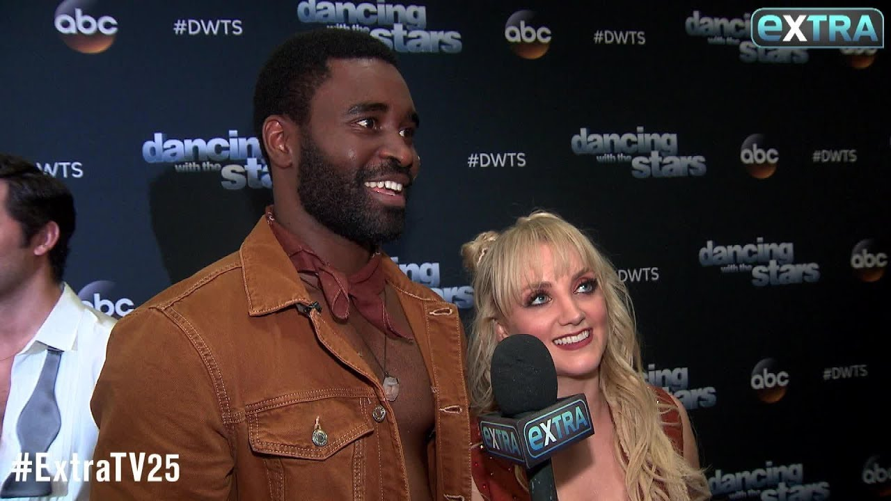 Evanna Lynch Keo Motsepe On Learning A Crazy First Two Weeks Of Dwts Youtube