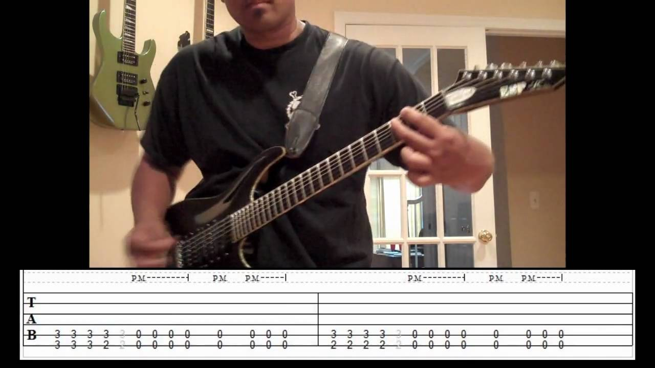 parkway drive karma tablature sheet music tutorial by freddy delacruz guitar cover youtube. Black Bedroom Furniture Sets. Home Design Ideas