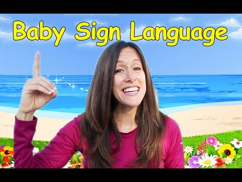 Baby Language Song (ASL), Basic Words and Commands by Patty Shukla ...