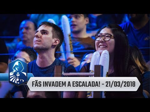 League News: Torcida presente na Escalada do CBLoL!